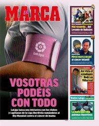 capa Jornal Marca de 19 outubro 2018