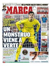 capa Jornal Marca de 20 fevereiro 2018