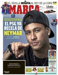 capa Jornal Marca de 20 abril 2018