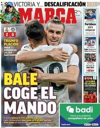 capa Jornal Marca de 20 agosto 2018