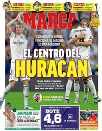 capa Jornal Marca de 21 setembro 2018