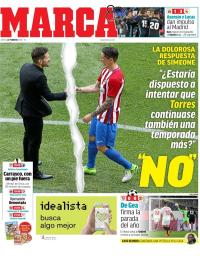 capa Jornal Marca de 22 fevereiro 2018