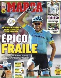 capa Jornal Marca de 22 julho 2018