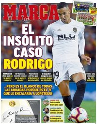 capa Jornal Marca de 22 agosto 2018