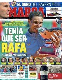 capa Jornal Marca de 23 abril 2018