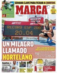 capa Jornal Marca de 23 julho 2018