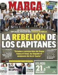 capa Jornal Marca de 23 agosto 2018