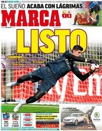capa Jornal Marca de 25 agosto 2018