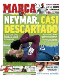 capa Jornal Marca de 27 fevereiro 2018