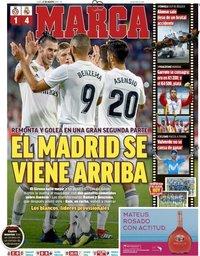 capa Jornal Marca de 27 agosto 2018