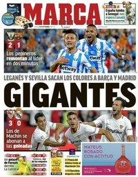 capa Jornal Marca de 27 setembro 2018