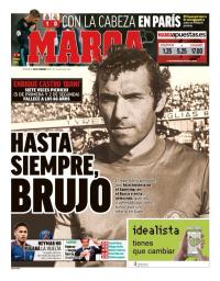 capa Jornal Marca de 28 fevereiro 2018