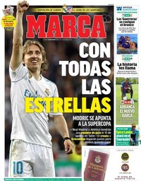 capa Jornal Marca de 28 julho 2018