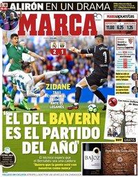 capa Jornal Marca de 29 abril 2018