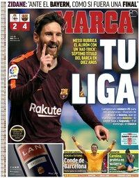 capa Jornal Marca de 30 abril 2018