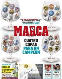 capa Jornal Marca de 30 agosto 2018