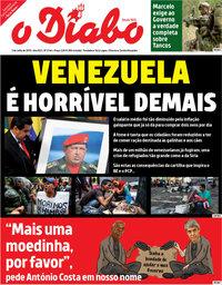 capa Jornal O Diabo de 3 julho 2018