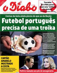 capa Jornal O Diabo de 10 julho 2018