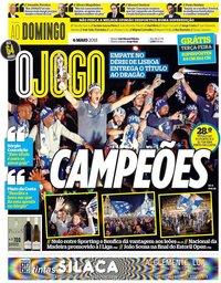 capa Jornal O Jogo de 6 maio 2018