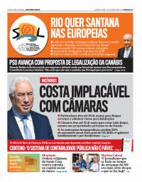 capa Jornal SOL de 11 fevereiro 2018
