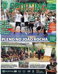 capa Jornal Sporting de 6 julho 2018