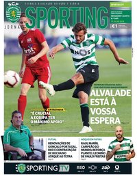 capa Jornal Sporting de 19 julho 2018
