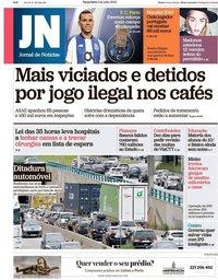 capa Jornal de Notícias de 3 julho 2018