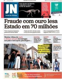 capa Jornal de Notícias de 4 setembro 2018