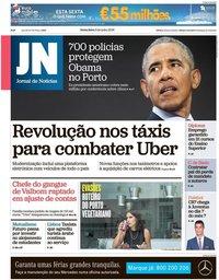 capa Jornal de Notícias de 6 julho 2018