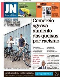 capa Jornal de Notícias de 7 julho 2018