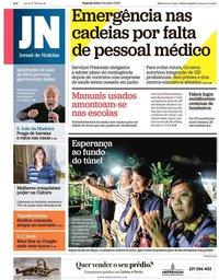 capa Jornal de Notícias de 9 julho 2018