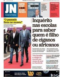 capa Jornal de Notícias de 18 setembro 2018