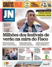 capa Jornal de Notícias de 29 julho 2018
