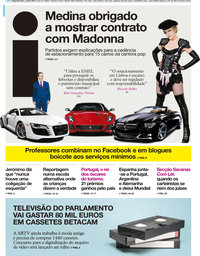 capa Jornal i de 2 julho 2018