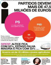 capa Jornal i de 2 agosto 2018
