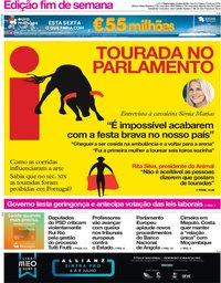 capa Jornal i de 6 julho 2018