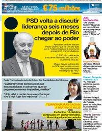 capa Jornal i de 6 agosto 2018