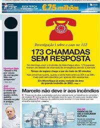 capa Jornal i de 7 agosto 2018