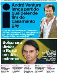 capa Jornal i de 9 outubro 2018