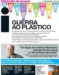 capa Jornal i de 10 agosto 2018