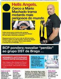 capa Jornal i de 12 julho 2018