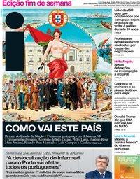 capa Jornal i de 13 julho 2018