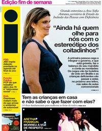 capa Jornal i de 17 agosto 2018