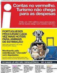 capa Jornal i de 19 julho 2018