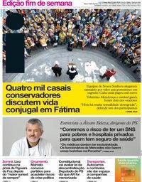 capa Jornal i de 20 julho 2018