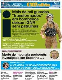 capa Jornal i de 20 agosto 2018