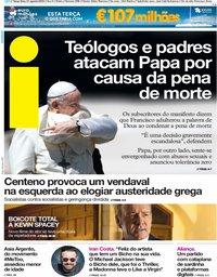 capa Jornal i de 21 agosto 2018