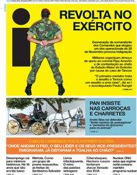 capa Jornal i de 22 agosto 2018