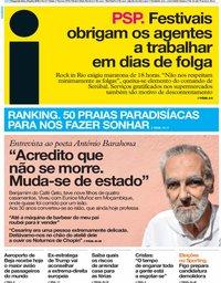capa Jornal i de 23 julho 2018