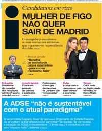 capa Jornal i de 24 julho 2018